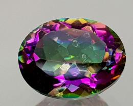 2.45Crt Mystic Quartz Natural Gemstones JI15
