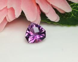 Master Cut Fancy Cut Amethyst Gemstone Cut by Master Cutter