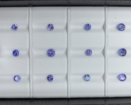 4.25 ct Tanzanite Gemstones Parcel