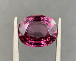 3.25 ct Rhodolite Garnet Gemstone Top color Top Luster