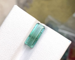 1.95 carats Bluish Green color Tourmaline Gemstone From Afghanistan