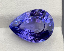 11.40 CT Tanzanite Gemstone Top Luster