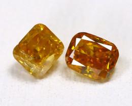 Orange Diamond 0.40Ct Untreated Genuine Fancy Diamond C0101