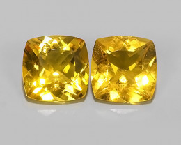 3.90~CTS GENUINE NATURAL ULTRA RARE COLLECTION ~GOLDEN YELLOW BERYL!!