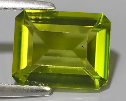 2.65 CTS~GENUINE NATURAL GREEN PERIDOT OCTAGON~ECELLENT!!