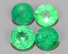1.55 CTS STUNNING SUPER NICE COLOUR 100% NATURAL EMERALD COLOMBIA~$600