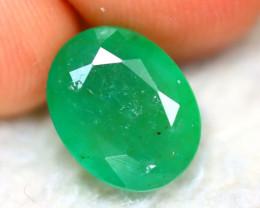 Emerald 2.80Ct Natural Zambia Green Emerald E0207/A38