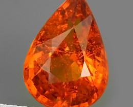 3.00 Cts Unheated Natural Orange Spessartite Garnet Namibia Gem!!