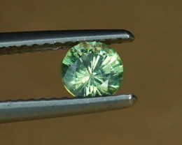 .49CT BRIGHT APPLE DEMANTOID GARNET from MADAGASCAR $1NR!