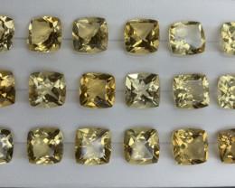 70.25 ct Citrine  Gemstones Parcel