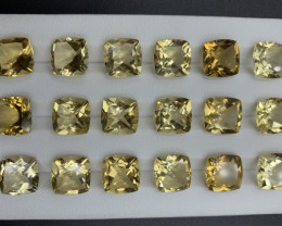 71.39 ct Citrine Gemstones parcel
