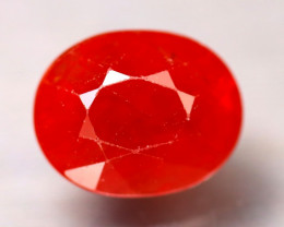 Sapphire 3.21Ct Natural Reddish Orange Sapphire DR438/B38
