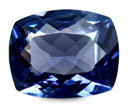 Burmese Spinel 2.32 Cts cobalt blue Portuguese cut BGC91