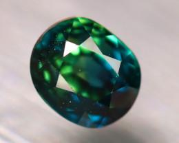 Sapphire 1.37Ct Natural Peacock Sapphire DR443/B25