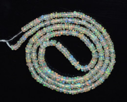 Ethiopian Opal Beads Strand 100% Natural and Untreated Gemstone OBG-1