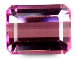 Africa Tourmaline 2.1 Cts Pink Antique Step Cut BGC66
