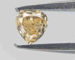 0.08 ct , Natural Pear Brilliant Cut Diamond , Diamond For Jewelry