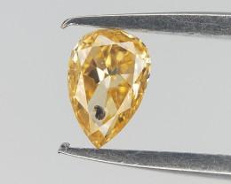 0.10 ct , Yellow tone Diamond , Diamond For Jewelry