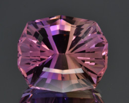 Natural Bolivian Ametrine 14.39 Cts Top Quality with Precision Cut