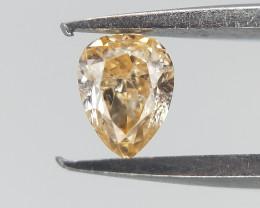 0.11 ct , Natural Pear Diamond , Diamond For Jewelry