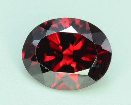 Top Grade 3.05 ct Fancy Cut Red Garnet