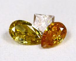 Fancy Diamond 0.32Ct Natural Untreated Fancy Color Diamond B0201