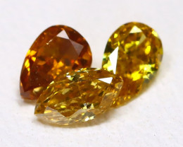 Fancy Diamond 0.35Ct Natural Untreated Fancy Color Diamond C0203