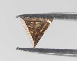 0.09 CT , Triangle Diamond , Rare Shaped Diamonds