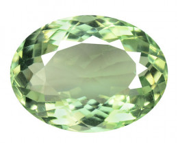 9.60 Cts Natural Green Amethyst Loose Gemstone