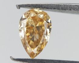 0.15 ct , Pear Diamond , Natural Pear Brilliant Cut