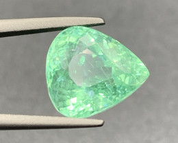 Top Grade 3.73 Ct Paraiba Tourmaline Gemstone top color top luster with fin