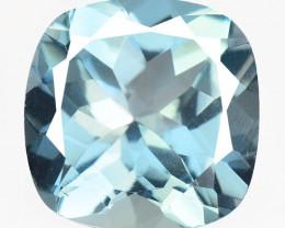 5.96 Carat Blue Natural Topaz Gemstone
