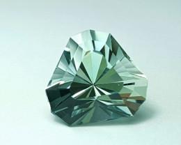 6.45 Cts Master Cut Fancy Cut Aquamarine Gemstone Cut by Master Cutter-P