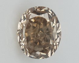 0.14 CT , Brownish Natural Diamond , Diamond For Jewelry