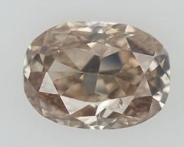 0.10 CT , Brown overtone Diamonds , Natural Colored Diamonds
