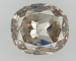 0.13 CT , Champagne Natural Diamond , Diamond For Jewelry