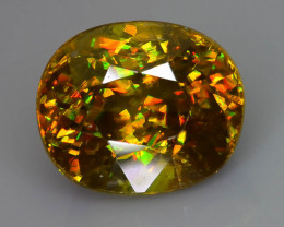 Rare AAA Fire 2.38 ct Sphene Sku-58