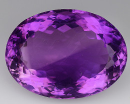 23.06 CT NATURAL AMETHYST GOOD CUT GEMSTONE AM42