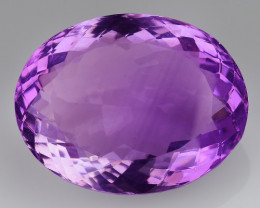 20.30 CT NATURAL AMETHYST GOOD CUT GEMSTONE AM50