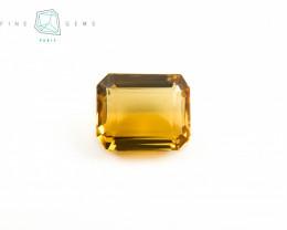 7.87 carats Natural Citrine Octa cut
