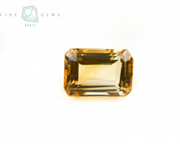 9.85 carats Natural Citrine Octa cut