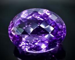 29.82 Crt Amethyst  Faceted Gemstone (Rk-8)