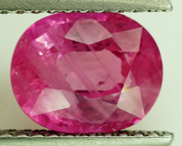 2.46  ct.  Natural Pink Sapphire, Madagascar -  ALGT   Certified