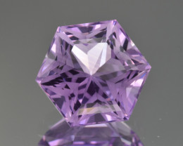 Natural  Amethyst 6.60 Cts Perfectly Cut Gemstone