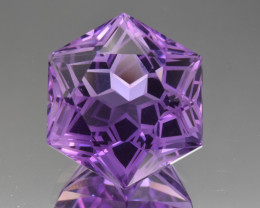 Natural  Amethyst 19.41 Cts Perfectly Cut Gemstone
