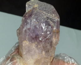 Wow Very Beautiful Bi Color Kunzite Natural Color Crystal From Afghanistan