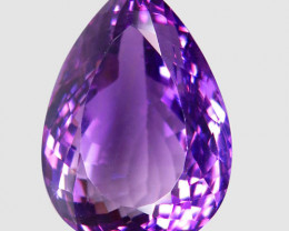 36.16 ct 100% Natural Earth Mined Unheated Purple Amethyst, Uruguay