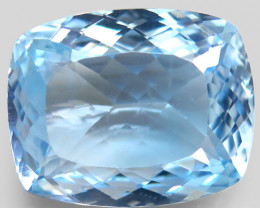 Unheated 35.72 ct. 100% Natural Earth Mined Top Quality Blue Topaz Brazil