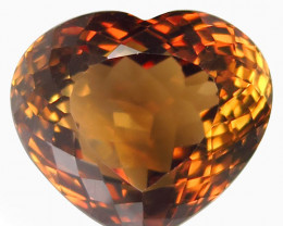 20.06 ct. 100% Natural Earth Mined Topaz Orangey Brown Brazil