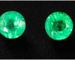 Emerald  0.25 ct Zambia GPC Lab